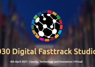 "A 2030 Digital Fasttrack Studios organized by UNESCO and Microsoft around the theme ""Sports, Technology and Innovation"""