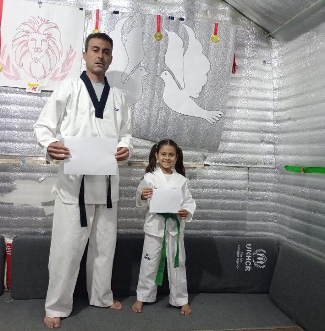 Mohammad & Doaa Al Ayoub: Taekwondo is our constant companion