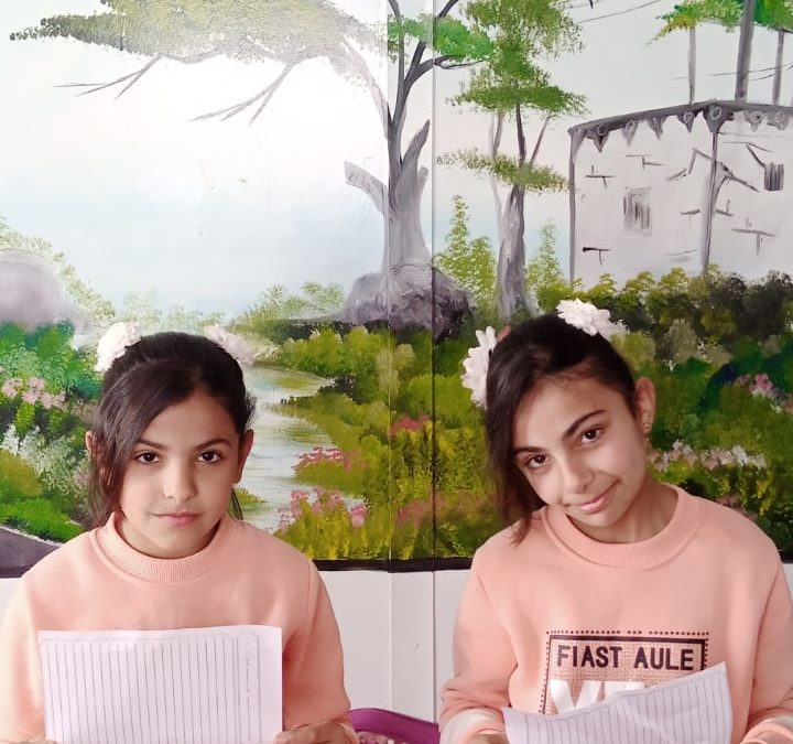 Nermin & Laren Emad Hassan: As sisters, we love life and we love sports!