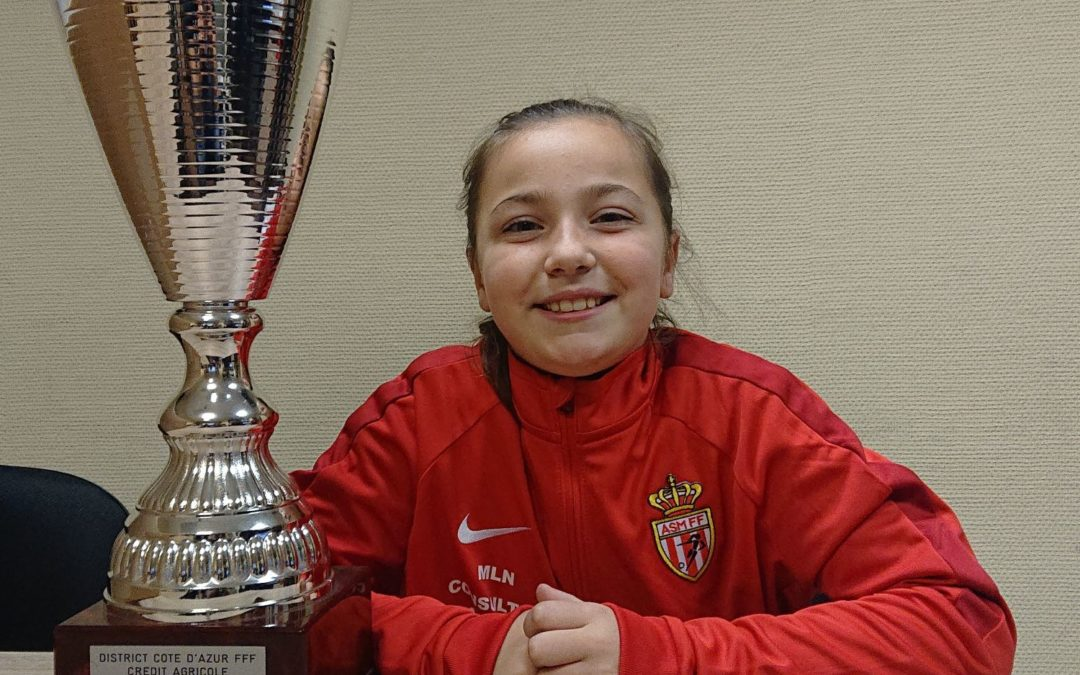 Sarah: Les filles peuvent être de grandes joueuses de football