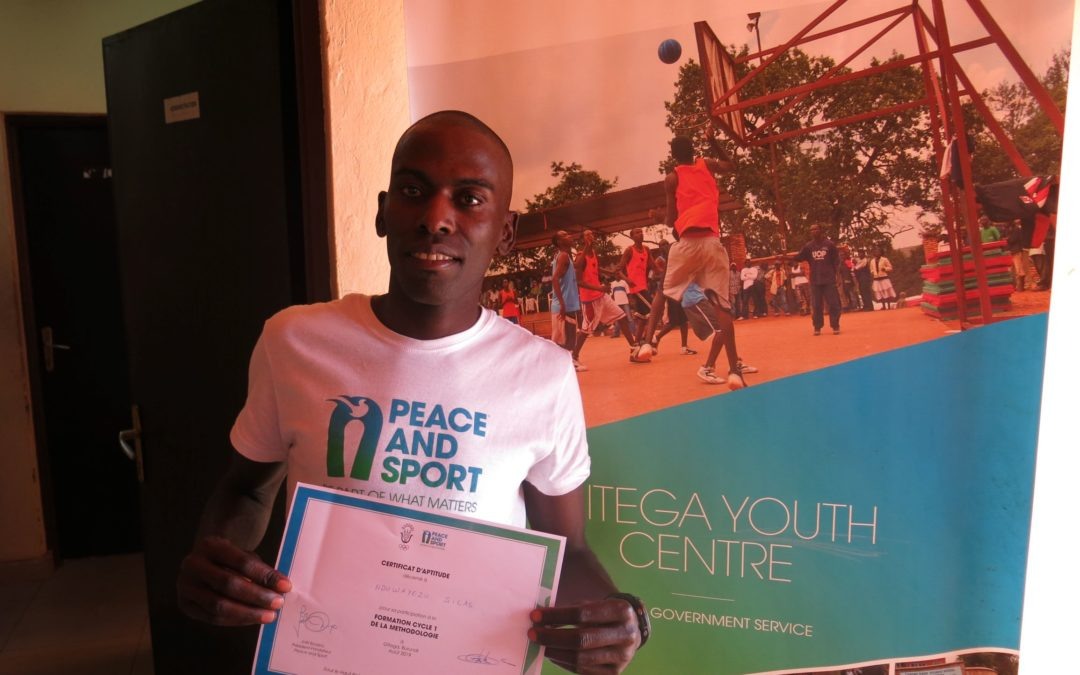 Silas Nduwayezu: Sport as a tool to teach