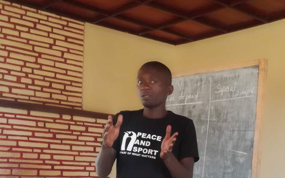 Vital Yamuremye: Sport for peace education