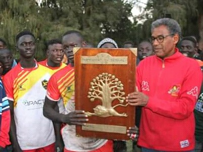 """Alioune NDIAYE, Président du club de Rugby """"Les Dragons du village Pilote au Senegal,Manager sportif et Formateur World Rugby, membre de la fédération sénégalaise de Rugby"""