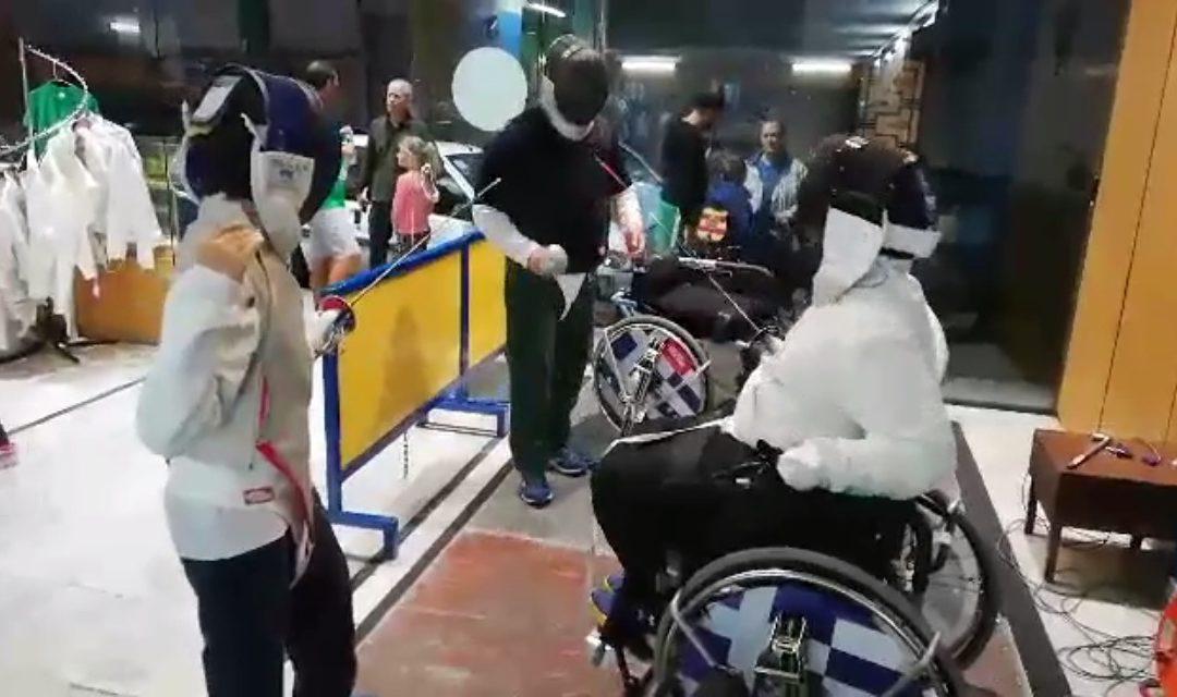 Dimitris Kazaglis:Wheelchair Fencing for all !