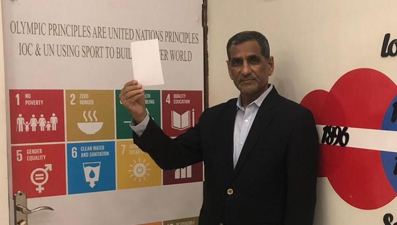 Muhammad Khalid Mahmood, Secretary General, Pakistan Olympic Association