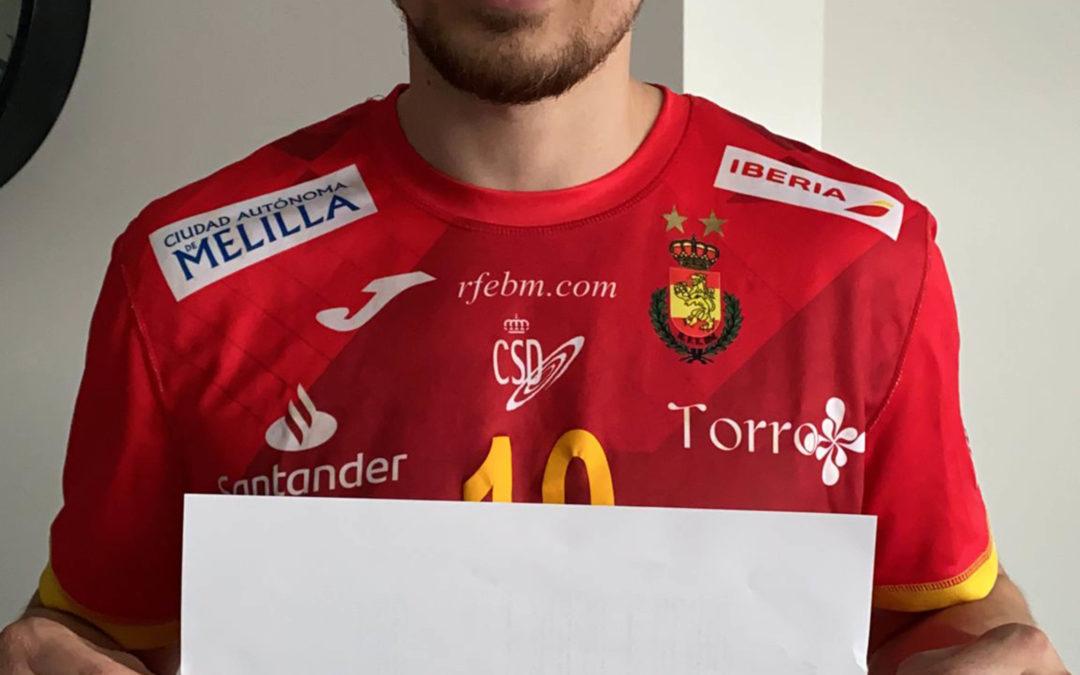 Álex Dujshebaev: handball and sports from the crib