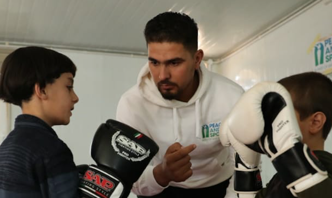 """Ali Hussein Alkhaidi: """"The support of a Champion for Peace was critical for my improvements"""""""