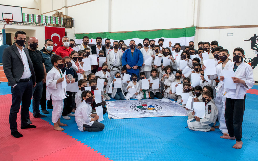 Nicolas Messner: Through Judo for Peace, I saw the world changing