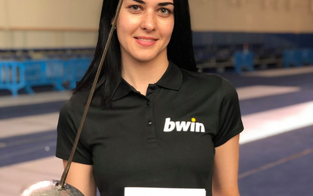 Dora Goudoura : Fencing passed me values without realizing it!
