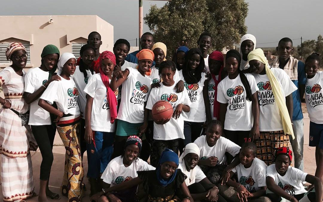Basketball to empower girls