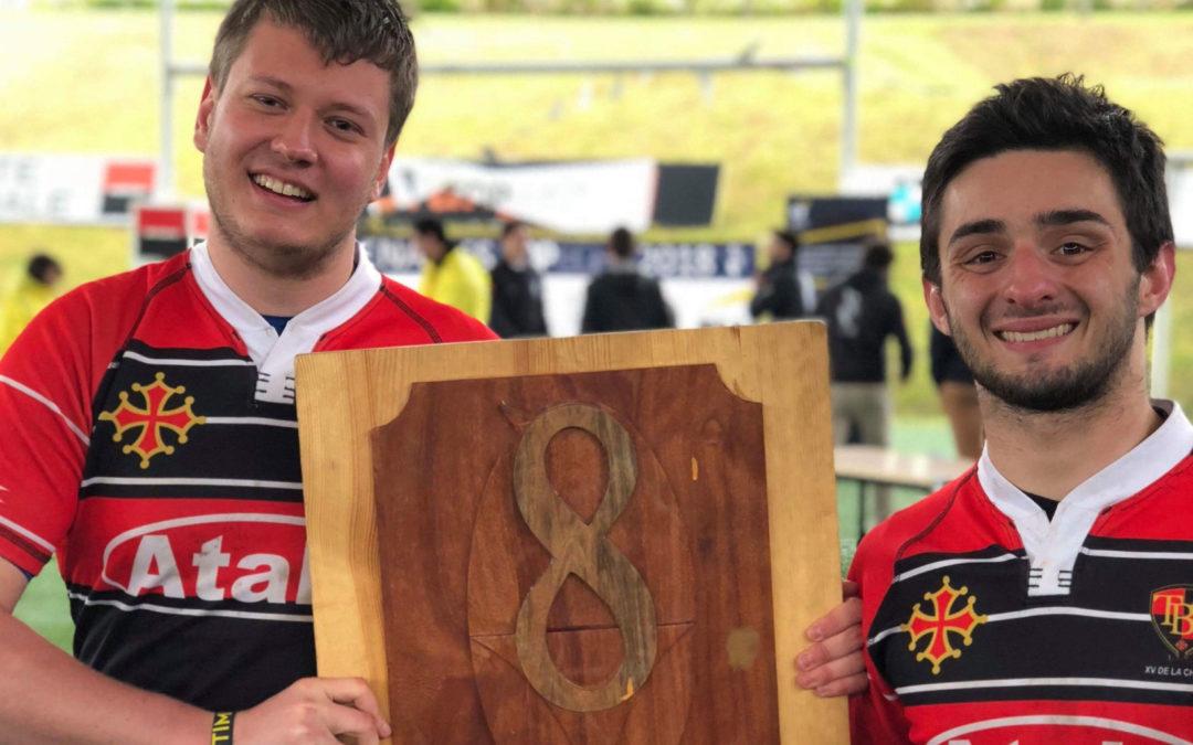 Alexis, rugbyman lyonnais, soutient le mouvement de la paix par le sport