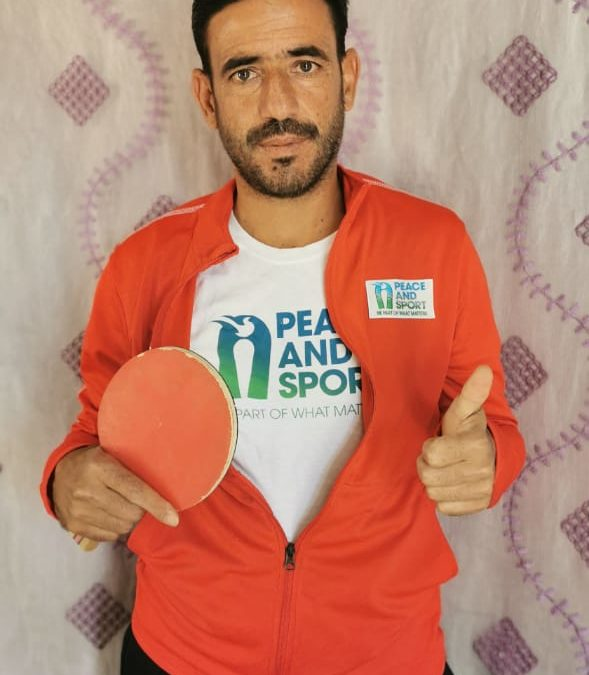 """Abdulrahman Jado: """"The Live Together Program is a wonderful program that creates happiness and hope for both coaches and kids."""""""