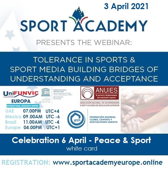 Tolerance in Sport & Sport Media Building Bridges of Understanding and Acceptance