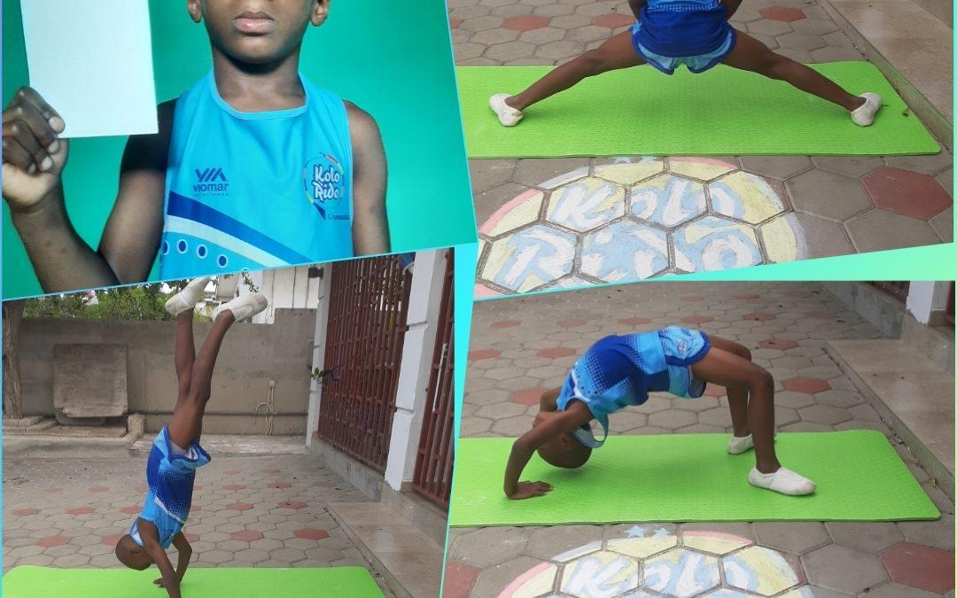 Gymnastick to empower boys, from Curaçao