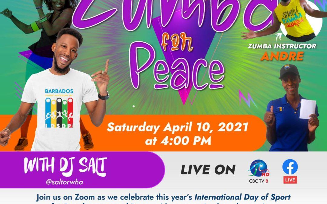 Barbados Olympic Association's Zumba IDSDP Celebration