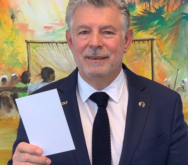 Joël Bouzou, Président-Fondateur de Peace and Sport : « le sport permet de casser les préjugés hérités et de créer des liens d'amitié durable entre les individus et les peuples »