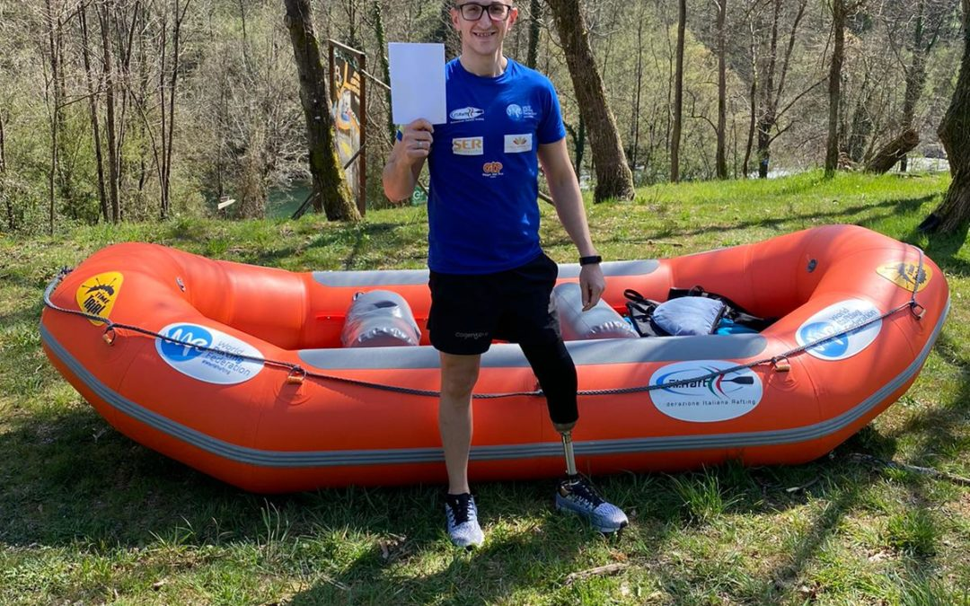 Always moving forward: Para-Rafting for Massimiliano Giandinoto