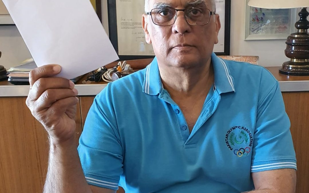 Lt Gen (R) Syed Arif Hasan HI(M), President Pakistan Olympic Association/ Noc Pakistan