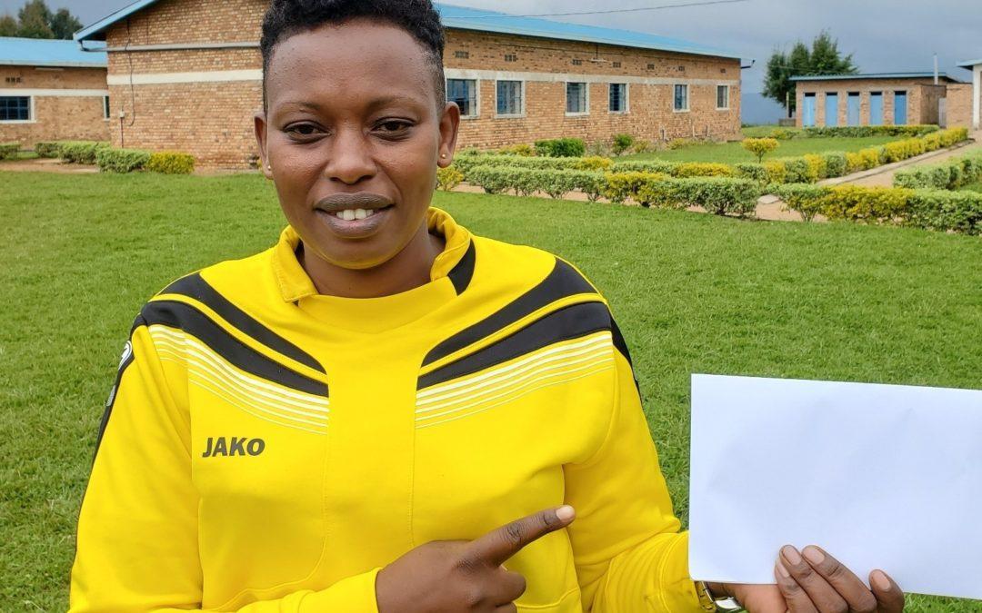 Grace – Rwanda's first woman football-referee