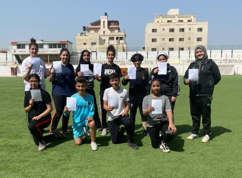Alaa Taneeb: Proud Female Football Player