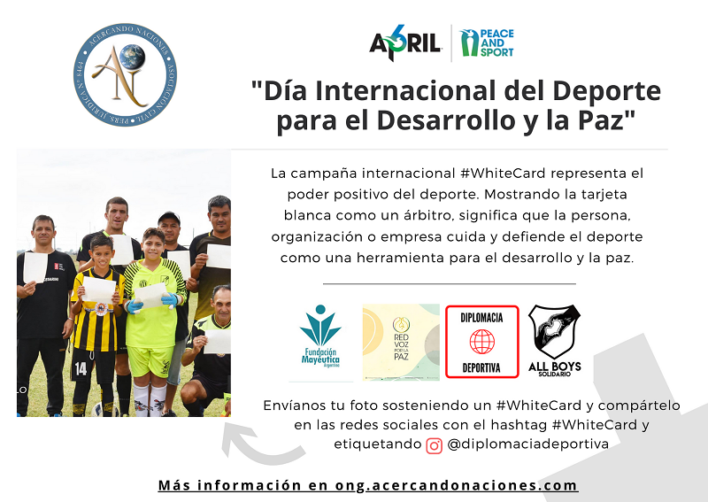 #WHITECARD2021 #ARGENTINA